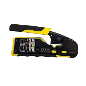 Klein Tools VDV226-110 Ratcheting Pass-Thru™ Modular Crimper