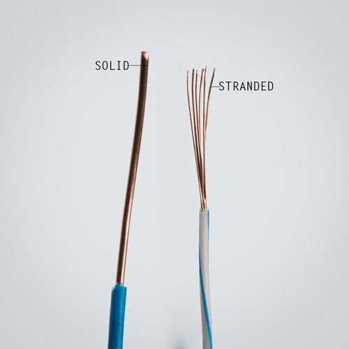 Solid vs Stranded Cable