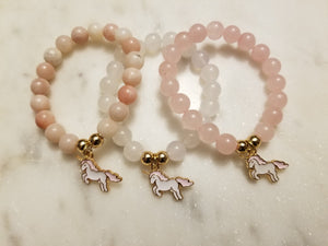 Unicorn Charm Bracelet - Hidden Gems by Raquel