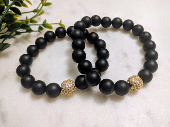 His & Hers Onyx & Bling - Hidden Gems by Raquel