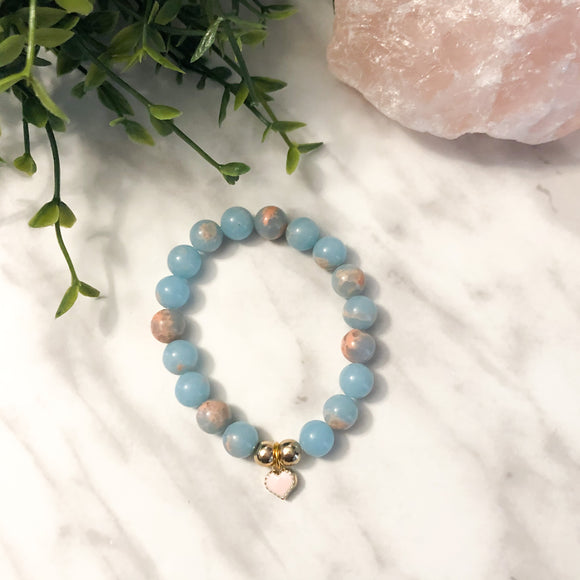 Kids Mermaid Love Bracelet