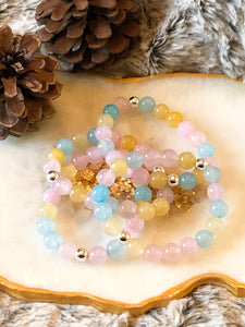 Agate Stacker Bracelet - Hidden Gems by Raquel