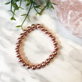 Rose Gold Hematite Stacker - 8mm