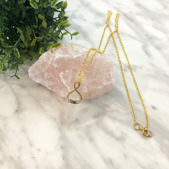 Quartz Necklace