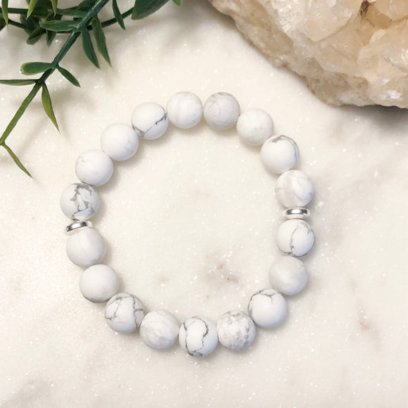Kids Howlite Stacker Bracelet - Hidden Gems by Raquel