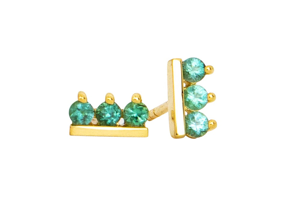 Tourmaline Sideline Earrings