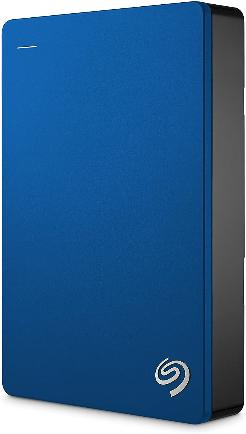 Seagate Backup Plus Portable Drive, 5TB, Blue