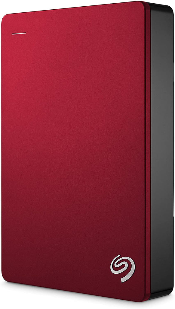 Seagate Backup Plus Portable Drive, 5TB, RED
