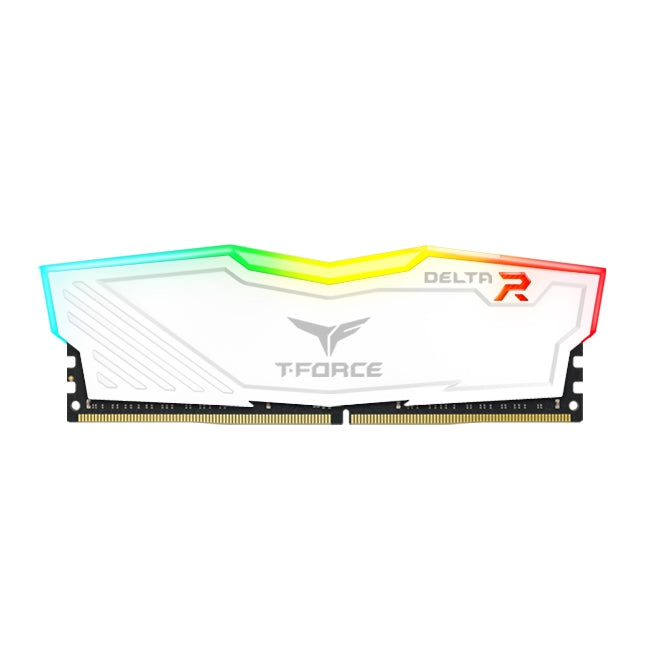 Delta RGB DDR4 Gaming Memory - 16GB White