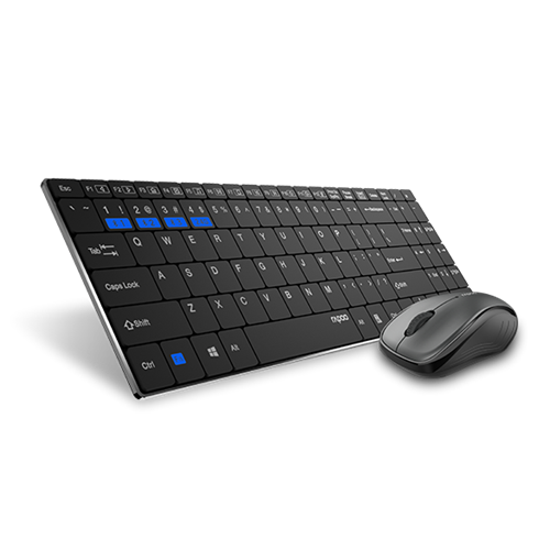 Rapoo Multi-Mode Wireless Keyboard and Mouse Combo