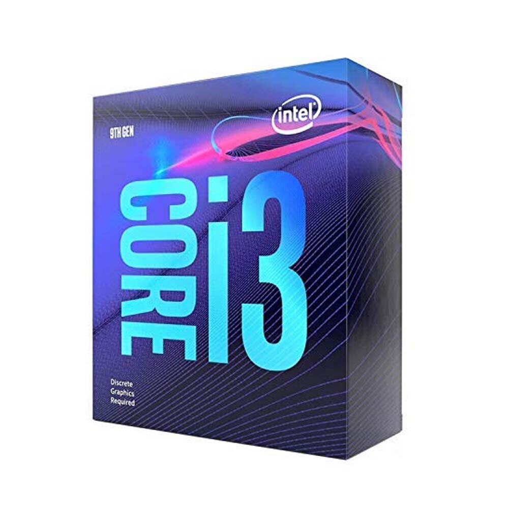 Intel Core i3-9100 Processor (6M Cache, up to 4.20 GHz)