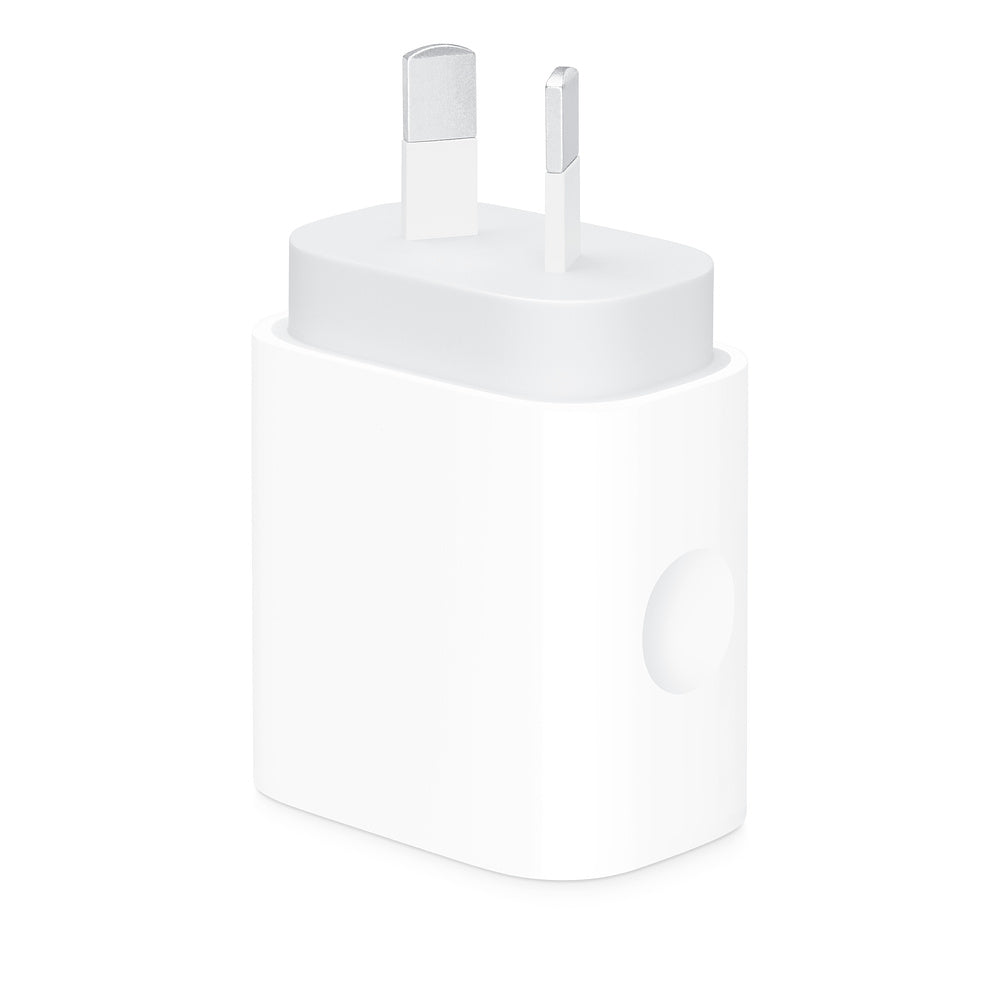 18W USB-C Power Adapter for iPhone, iPad