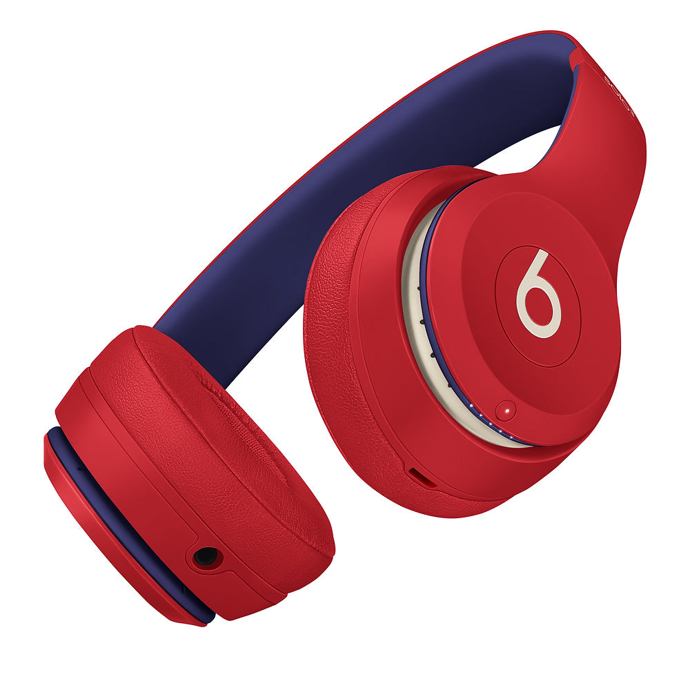 Beats Solo3 Wireless On-Ear Headphones Club Collection - Red