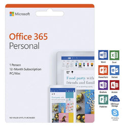 Microsoft Office 365 Personal 1 Person 12 Months Download
