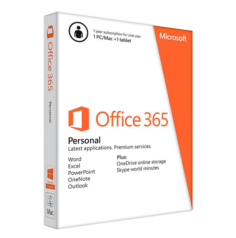 Microsoft Office 365 Personal 1 Person 12 Months ESD