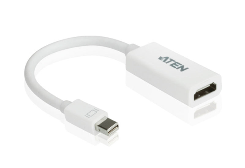 Aten Mini DisplayPort(M) to HDMI(F) Adapter -Premium series with EMI Shielding
