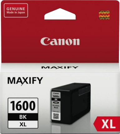 Canon Ink Cartridge PGI-1600XLBK