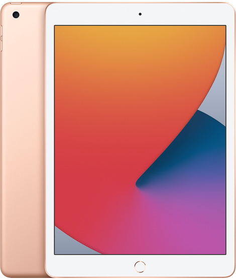 "iPad 8th Gen 10.2"" WiFi 128GB Gold"