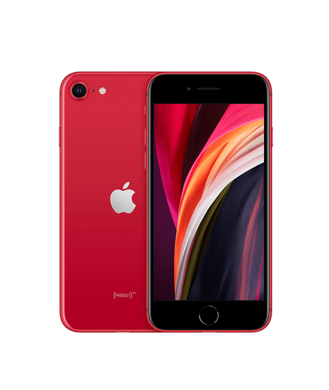 iPhone SE 2nd Generation 256GB Red