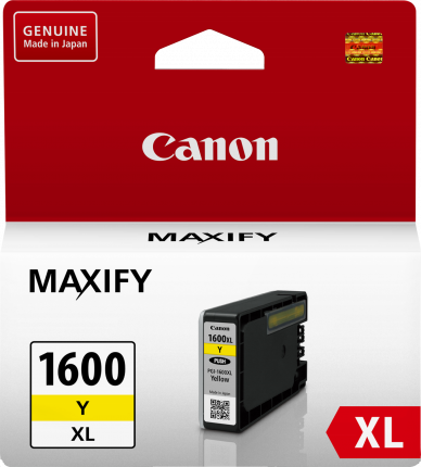 Canon Ink Cartridge PGI-1600XLY