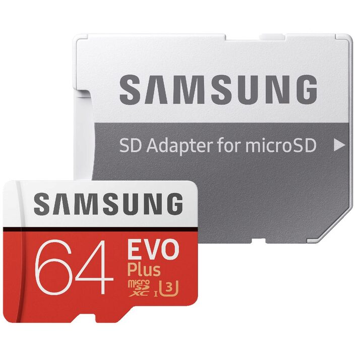 Samsung EVO Plus Advanced Performance microSD Card 64GB