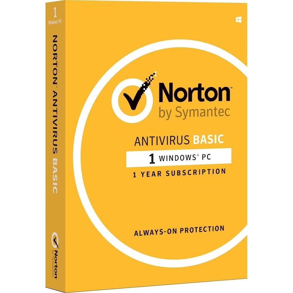 Norton Antivirus Basic 1 User 1 Year Digital Download