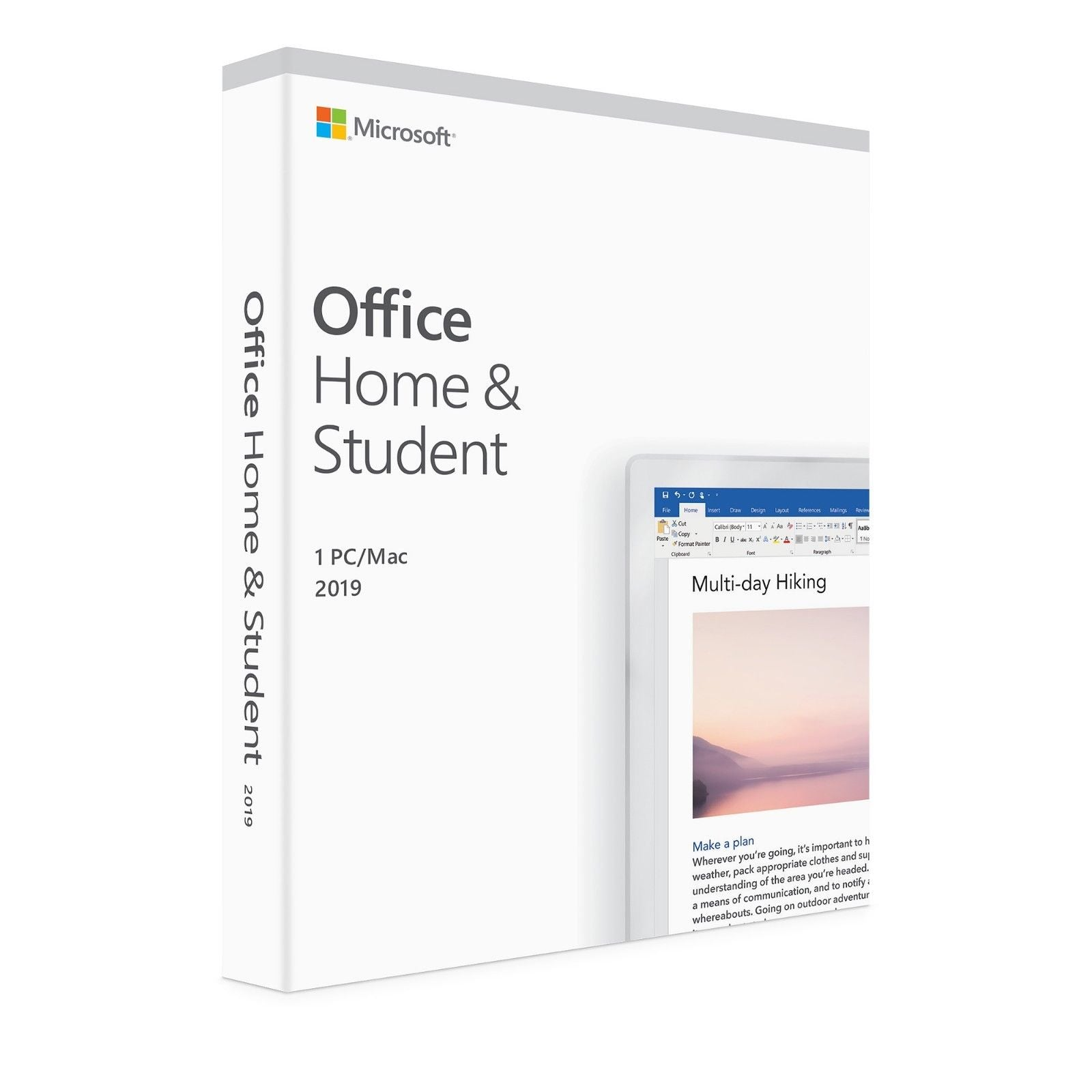 Microsoft Office 2019 Home & Student Windows/Mac - ESD