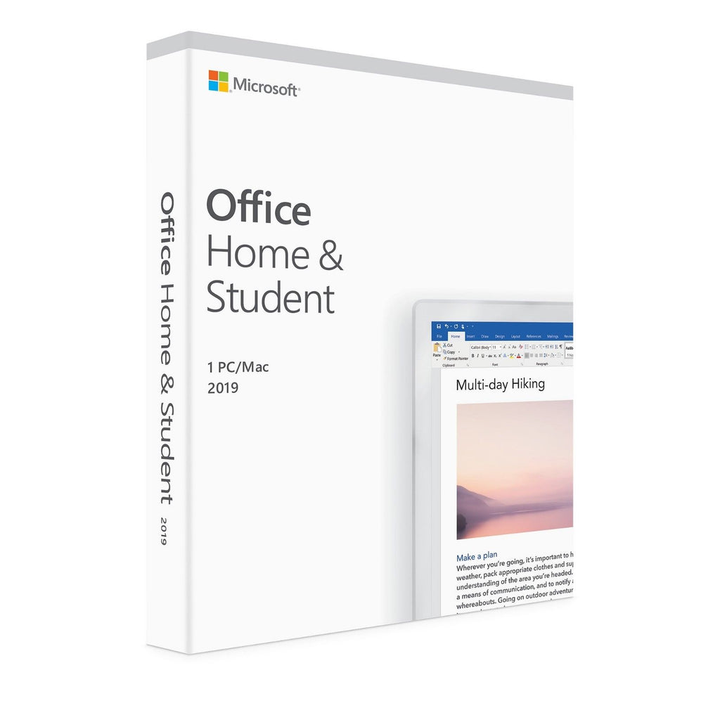 Microsoft Office 2019 Home & Student Windows/Mac - ESD Version
