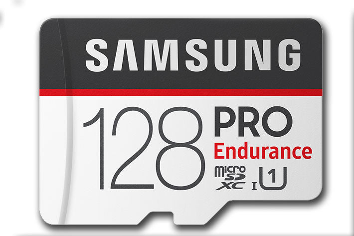 Samsung PRO Endurance microSD Card (SD Adapter) 128GB