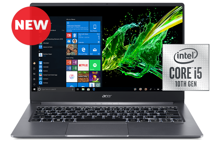 Acer Aspire Swift 3, Intel Core i5, 8GB RAM, 512GB SSD