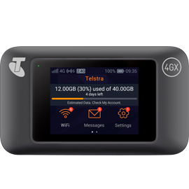 Telstra 4GX Wi-Fi Pro Pre-Paid Mobile Broadband