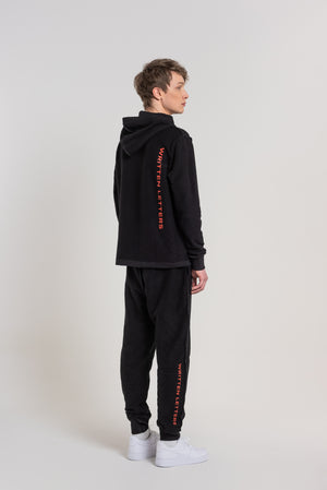 Black Logo Sweatpants