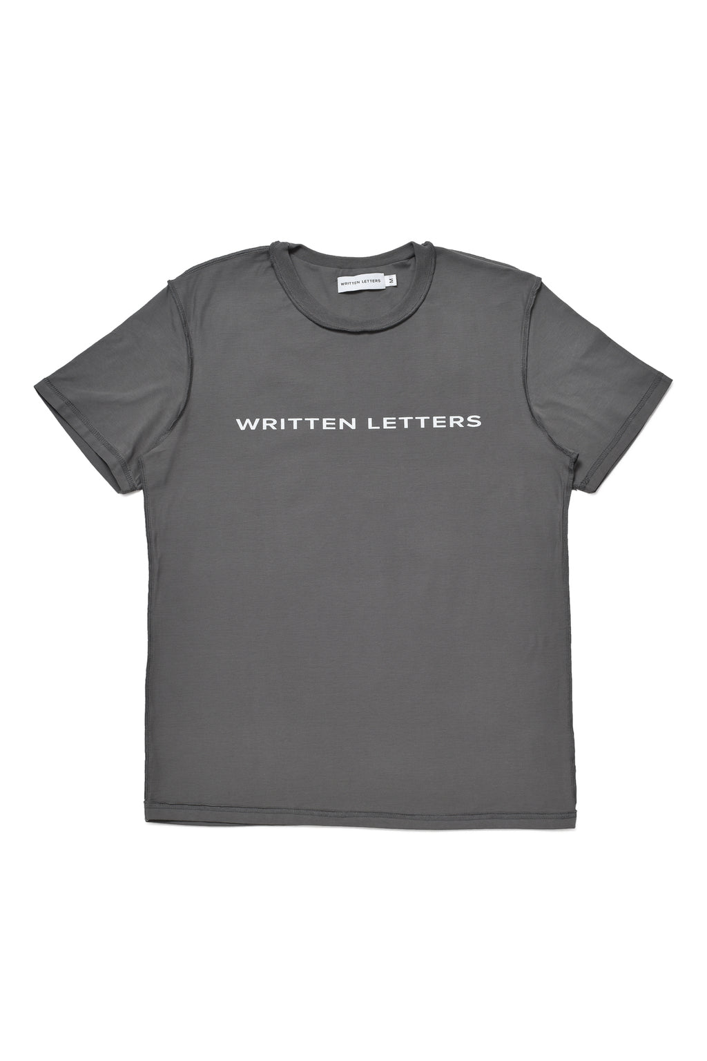 Grey 'Written Letters' T-Shirt