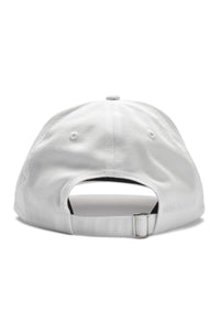 Written Letters White Sandwich Logo Cap Back