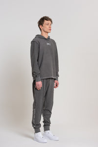 Grey Logo Sweatpants