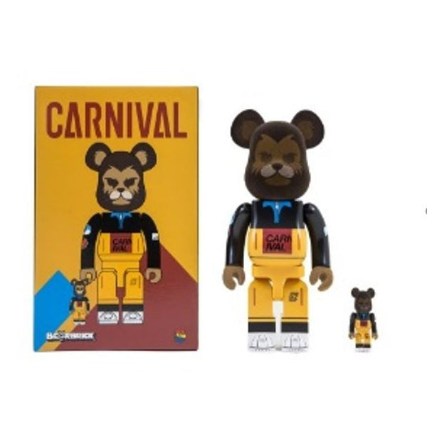 Carnival X Be@Rbrick Futro Set 400%+100% Accessories Carnival