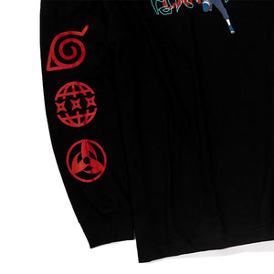 Carnival x Naruto - Kakashi Long Sleeve T-Shirt (Black) Apparel Carnival