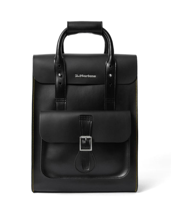 Drms Leather Backpack Black Accessories Dr. Martens
