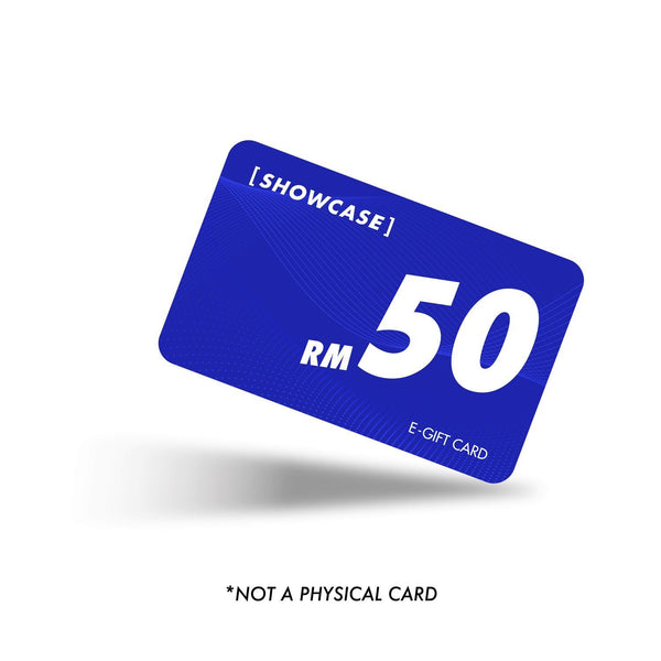 Gift Card Gift Card Showcase RM50