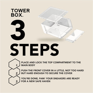 Tower Box (2 Boxes) Accessories Tower Box