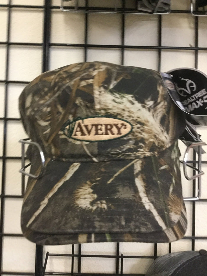 Avery Ave Oil Cloth Hat Max 5