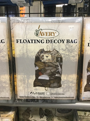 Avery Floating Decoy Bag Realtree MAX-5 - Pacific Flyway Supplies