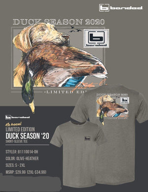 Banded 4th Annual Limited Edition Duck Season 2020 T-Shirt - Pacific Flyway Supplies