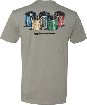 Banded Olympic Bands T-Shirt Grey - Pacific Flyway Supplies