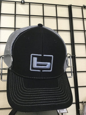 Banded Trucker Hat - Black/Charcoal - Pacific Flyway Supplies