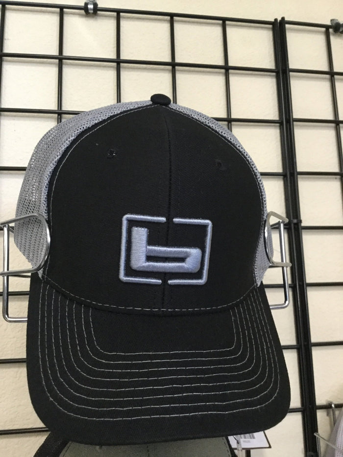 Banded Trucker Hat - Black/Charcoal