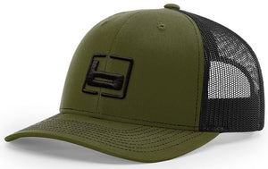 Banded Trucker Snapack Cap Loden/Black - Pacific Flyway Supplies