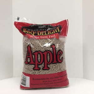 BBQr's Delight Wood Pellet Apple 20lbs - Pacific Flyway Supplies