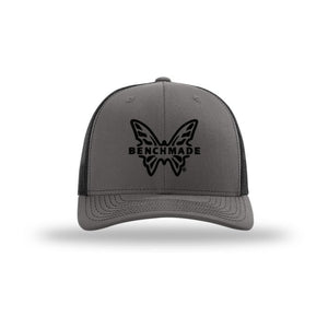 Benchmade Favorite Trucker Hat Charcoal/Black - Pacific Flyway Supplies