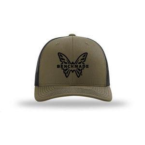 Benchmade Favorite Trucker Hat Loden/Black - Pacific Flyway Supplies